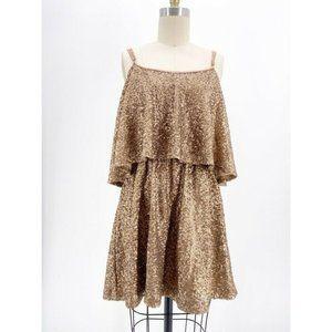 Anthropologie Lovers + Friends Sequin Dress Mini